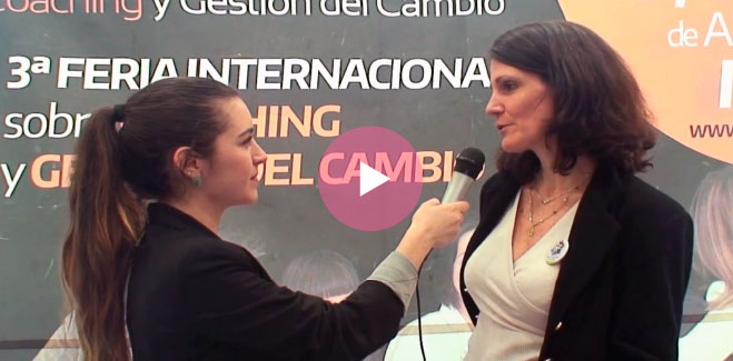 Interview with Aliocha Mussy, Director of PCM in Spain, ExpoCoaching Madrid.