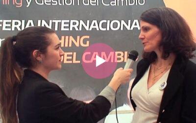 Interview d'Aliocha Mussy, Directrice de PCM en Espagne. ExpoCoaching Madrid